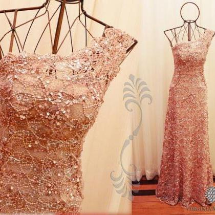 2017 New Style Prom Dress Blush Pin..