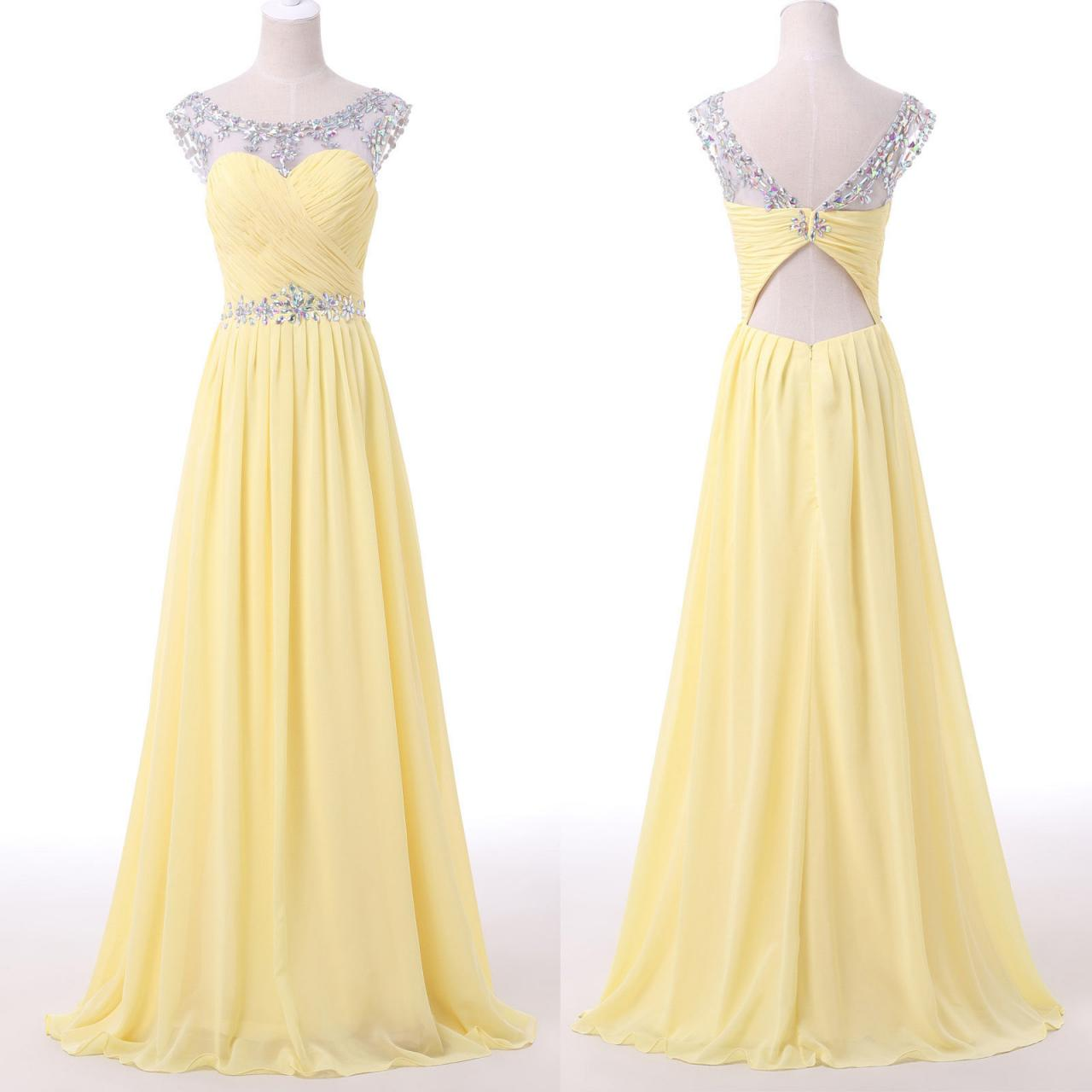 Yellow Prom Dresses For 2018 114