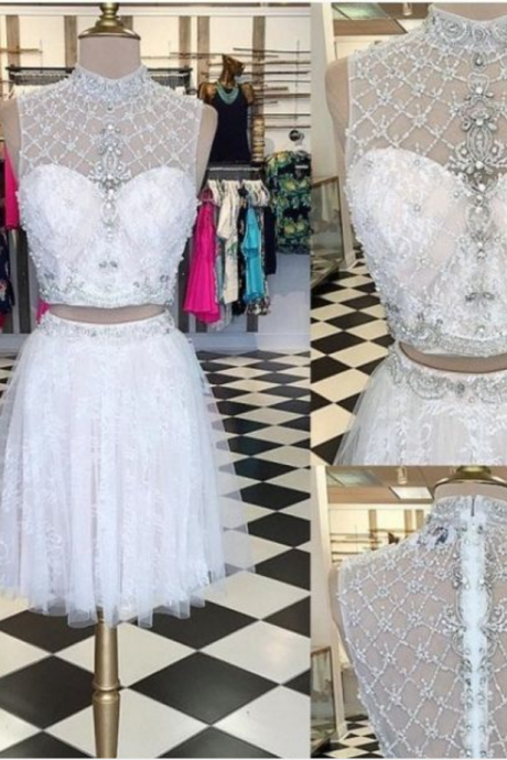 Cheap homecoming dresses 2018,Two Pieces Homecoming Dress,Short Prom Dresses,Cocktail Dress,Homecoming Dress,Graduation Dress,Party Dress,Short Homecoming Dress