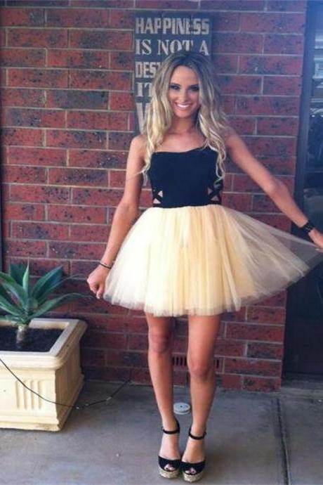 Tulle Homecoming Dresses, Mini Length Homecoming Dresses, Cute homecoming Dresses, Homecoming Dresses, Short Prom Dresses, Charming Homecoming Dresses