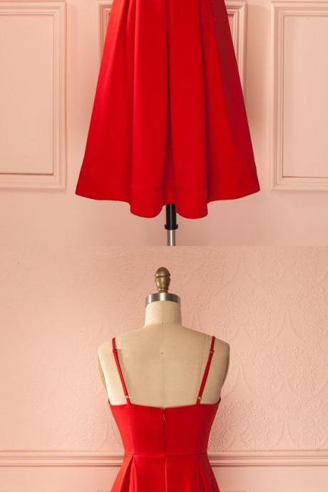 Red Homecoming Dress ,Homecoming DressES,Open Back Homecoming Dress,.Sexy Prom Dress,Beaded Prom Dress,Tulle Prom Gown,Red Prom Gown,Short Prom Gowns,Party Dress