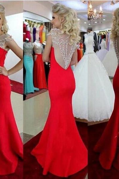 Long prom dress, red prom dress, cap sleeve dress, charming prom dress, pretty prom dress, popular prom dress, inexpensive prom dress, occasion dress