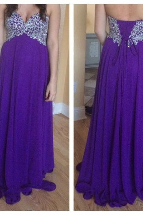 High Quality Prom Dress,A Line Prom Dress,Appliques Prom Dress,Beading Graduation Dress,Long Prom Dress,Custom Made Prom Dress,Chiffon Party Dress,Sexy Strapless Evening Dress