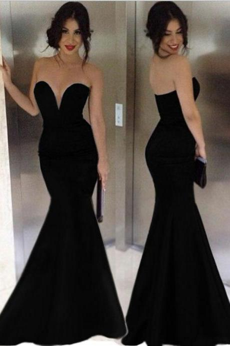 New Black Formal Fishtail Mermaid Elegant Long Party Evening Dress Prom Gown Women back corss Vestidos de Renda Maxi Dress