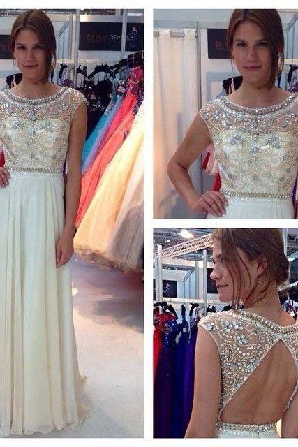 Prom Dresses,Elegant Evening Dresses,Long Formal Gowns,Beaded Party Dresses,Chiffon Pageant Formal Dress,Prom Dresses