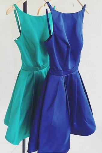 Royal Blue Homecoming Dress,Cute Prom Dress,Short Prom Dresses