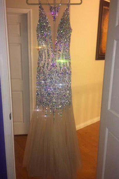 Charming Prom Dress,Mermaid Prom Dress,Long Prom Dresses