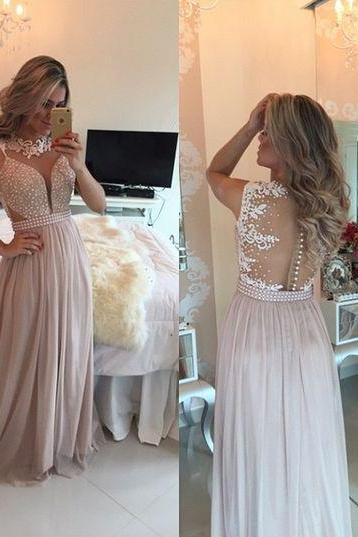 Charming Prom Dress,Lace Prom Dress,Beaded Prom Dress,Fashion Prom Dress,Sexy Party Dress, New Style Evening Dress