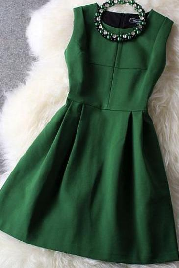 Homecoming Dress,Green Homecoming Dresses,Sweet 16 Dress,Homecoming Dress,Cocktail Dress