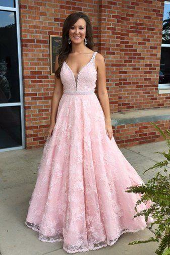 Charming Prom Dress,Lace Prom Dress,Beading Prom Dress,A-Line Evening Dress,Wedding Guest Prom Gowns, Formal Occasion Dresses,Formal Dress