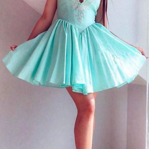 Blue sexy back-to-school dress, back-to-school dress, new homecoming gown,