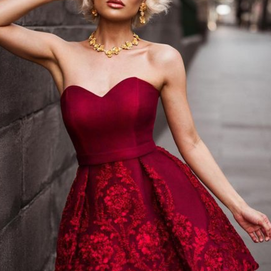 Sweetheart Homecoming Dress, New Homecoming Dresses, Sexy Burgundy Homecoming Dresses