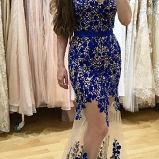 Sexy Sweetheart Floor-Length Sheath Prom Dress with Lace Pearls Sash